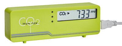 CO2 AIRCONTROL MONITOR MINI TFA 31.5006.04 GRÜN TEMPERATUR RAUMKLIMA-ÜBERWACHUNG