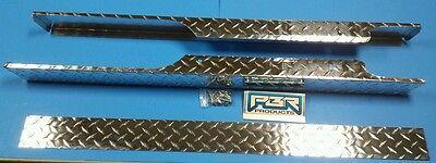 EZGO Golf Cart Part Diamond Plate Rocker PanelsPair & Kick Panel 1994-2012 TXT