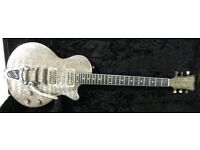 James Trussart Steeldeville - Gator with Bigsby and TV Jones Powertrons
