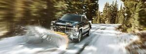 2011-2016 Chevy Sierra and Chevy Silverado New Snow Tire Package - LT245/75/17 Winter Tires Installed and Balanced