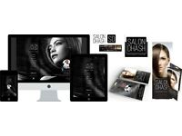 Professional web design for Salons. Graphic design for Salons in London