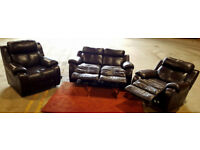 Electric recliner sofa and 2 x chair. Can deliver