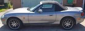 2004/04 Mazda MX5 Euphonic Limited/Special edition soft-top convertible *BARGAIN* *REDUCED*