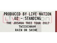 U2 and Noel Gallagher Tickets x 2 Sunday 9th July Ywickenham