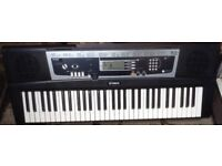 Yamaha YPT210 portatone, MIDI YES full size keys electronic SYNTHESISER Keyboard piano