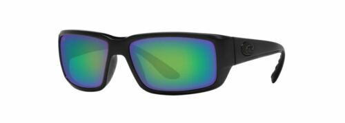 NEW Costa Del Mar Fantail Blackout Frame w/ Green Mirror 580G Lens TF01OGMGLP