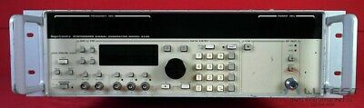 Gigatronics 61002-8 Synthesized Signal Generator. 2.0 - 8.4 Ghz Options 03