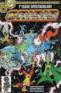 Crisis on Infinite Earths #1-12 DC comics