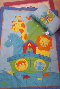 Higgledee cot quilt set Howrah Clarence Area Preview