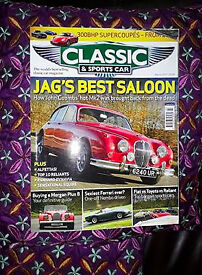 Classic and sports car magazines