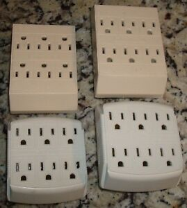 Outlet Wall Tap - 6 Outlets