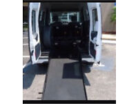 Disabled access ramp for van