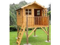 Playhouse Wooden Tower 7 x 5