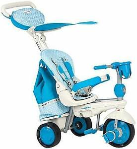 Blue Smart Trike all stages