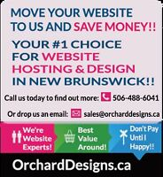 Move your website to us and save money!!