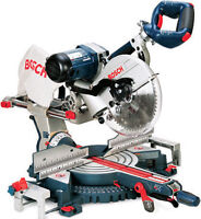 "Bosch 4410L 10"" sliding dual bevel miter saw"