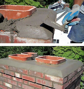 Concrete jobs and chimney repairing