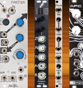 Eurorack modules synth