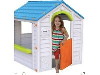 Keter Holiday Plastic Playhouse from B&Q