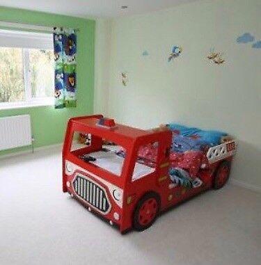 Fire Engine Bed Frame