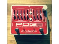 Brand new Electro Harmonix POG 2 pedal guitar bass