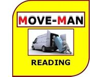 07456 504 918 (MAN and VAN) House/Flat Moves, Furniture Moves, Collections/Deliveries, READING