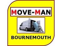 07456 504 918 (MAN and VAN) House/Flat Moves, Furniture Moves, Collections/Deliveries, BOURNEMOUTH