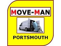 07456 504 918 (MAN and VAN) House/Flat Moves, Furniture Moves, Collections/Deliveries, PORTSMOUTH