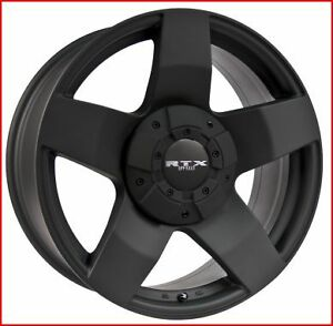 Roues (Mags) RTX Offroad Thunder noir mat 17 po. Ford F150 04-15