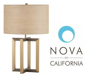"NEW Contemporary modern Noble 23.5"" Table Lamp"