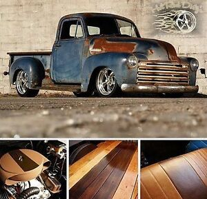 Check 1953 Chevrolet C-10 Patina Pro Touring Restomod Hot Rod 31