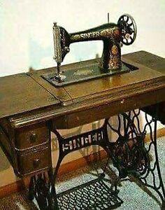 ''Antiquité''Machine à coudre Singer