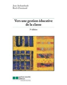 Livre: Vers une gestion éducative de la classe