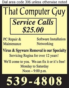 Computer Troubles? Call That Computer Guy!