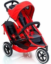 Red Phil and Ted's pushchair for sale in great condition
