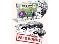 EFT -EMOTIONAL FREEDOM TECHNIQUE DVD BOX SET BY EFT MASTER GWYNETH MOSS