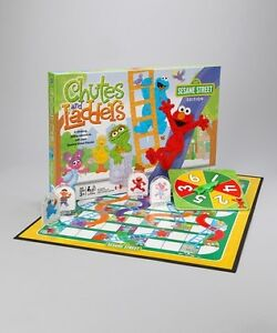 Sesame street: Chutes and ladders, $10.