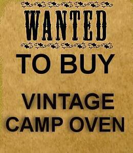 WANTED TO BUY - Vintage Camp Oven & Furphy water Fountain Gawler Gawler Area Preview