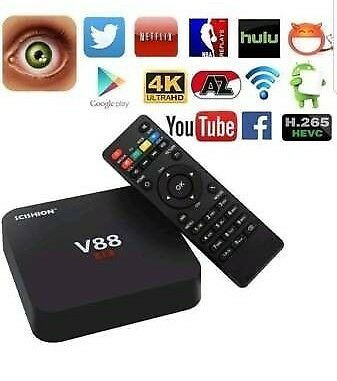 ANDROID TV BOX LATEST VERSION £45