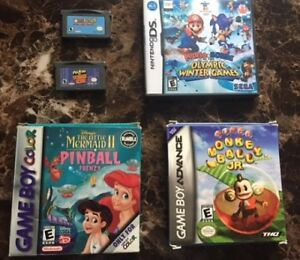 gba and gbc games
