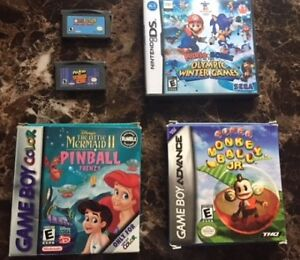 gbc/gba games for sale