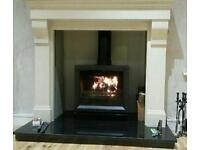 Fireplaces, Marble and Solid Oak