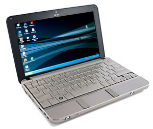 Laptop hp mini avec graveur dvd win 7  100$