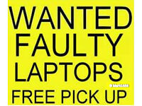 Faulty Laptops Wanted for Cash ! Hull only, Free Fast pick up ! up to £30