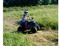 Kids 90cc quad