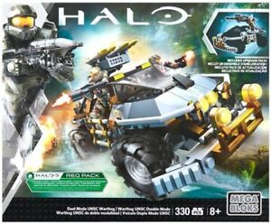 MEGA BLOKS Halo Dual Mode Unsc Warthog Building Set