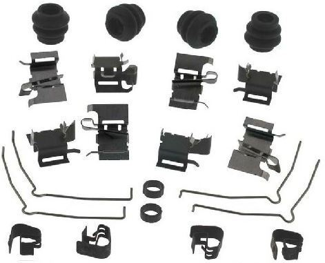 Lexus NX 200t 300h NX200t NX300h FRONT Brake Pad Disc Fitting Hardware Kit