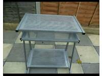 Metal PC trolley/table