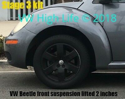 VW High Life Stage 3 Front Suspension Lift Kit for VW MK4 Beetle 1998-2010
