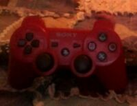 selling a Red Sony ps3 controller